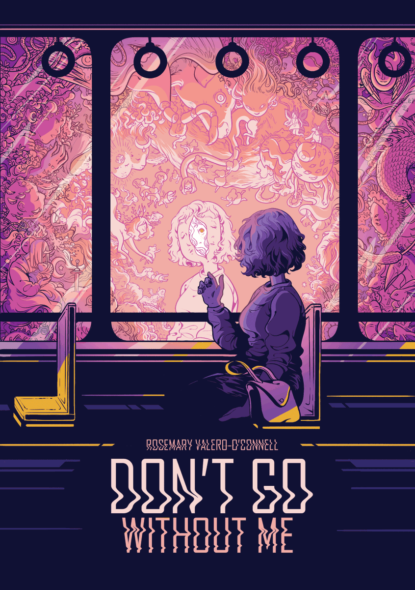 hi darlings! you can now buy my Ignatz-winning comic Don't Go Without Me as a physical book or a digital pdf! 3 stories, 124 pages, lots of curls and flowers and waves!🌊  pdf: https://t.co/FmqFx0tlR6 book: https://t.co/fqfg6jtOF1 https://t.co/E636rqQD7W