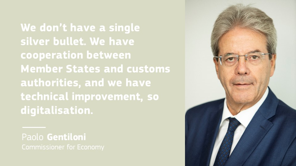 How to deal with #taxfraud? Commissioner @PaoloGentiloni says there is no quick fix. Watch our live event now, to see how EU leaders plan to finance the recovery. https://t.co/i76nj47ung