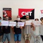 Image for the Tweet beginning: Comrades of @CNTBisbal in Spain