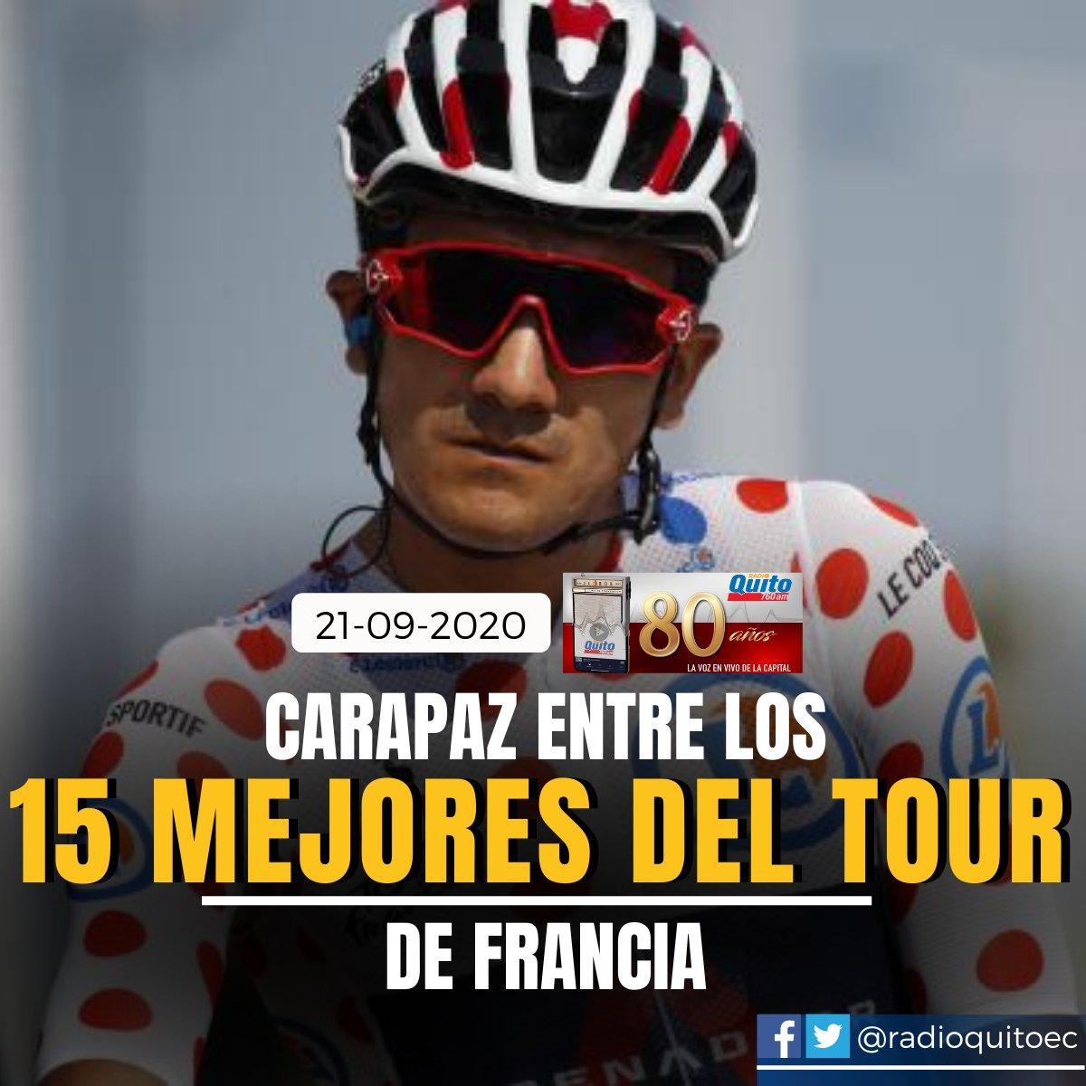 #RichardCarapaz terminó en el puesto 13 de la #clasificación general. El #ecuatoriano cronometró 87h45'58''. La '#Locomotora del #Carchi' fue el mejor ubicado del equipo #IneosGrenadiers. https://t.co/R9hbJXllai