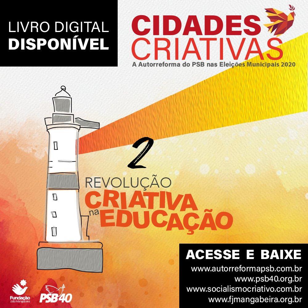 O livro Cidades Criativas, Autorreforma do Partido Socialista Brasileiro nas Eleições 2020 já está disponível para leitura e download gratuito nos nossos sites!  Acesse: https://t.co/oJv3kB8POf https://t.co/XyO6bMVVBE https://t.co/Xxr1wCjbbb https://t.co/Gy5Q12iKcg https://t.co/ZwrbE6RxOk