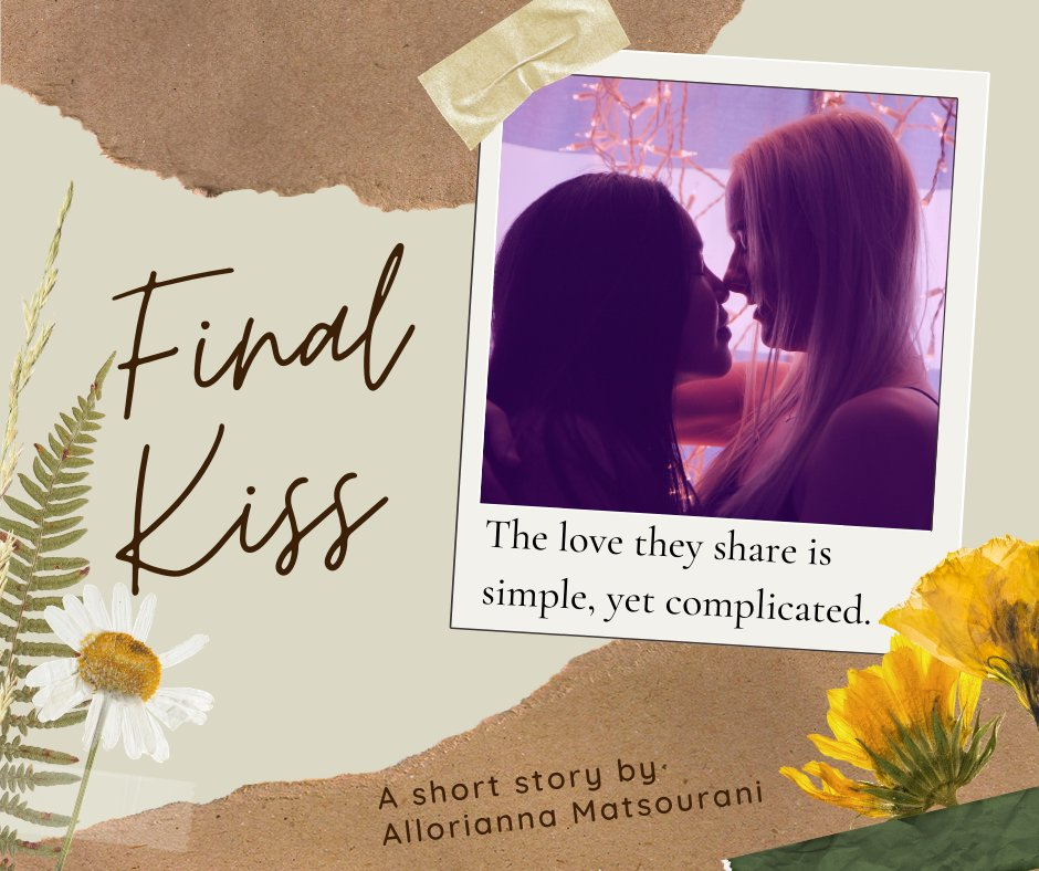 """@ZorbyBooks Good morning and happy Monday! I posted a new short story, """"Final Kiss,"""" on Reedsy Prompts. Why does love have to be so difficult?  https://t.co/HYrxb7mfxQ  #LGBT #fiction #romance #shortstory #readers #readingcommunity  #love #women #writingcommunity https://t.co/FcOhs36KVv"""