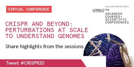 We're looking forward to welcoming 297 virtual attendees to #CRISPR20 tomorrow [22 Sept]!   If you're joining us from one of the 24 countries represented, please share highlights from the sessions using #CRISPR20. We'd also love you Tweet a photo from where you're watching from. https://t.co/393k3KqVhy
