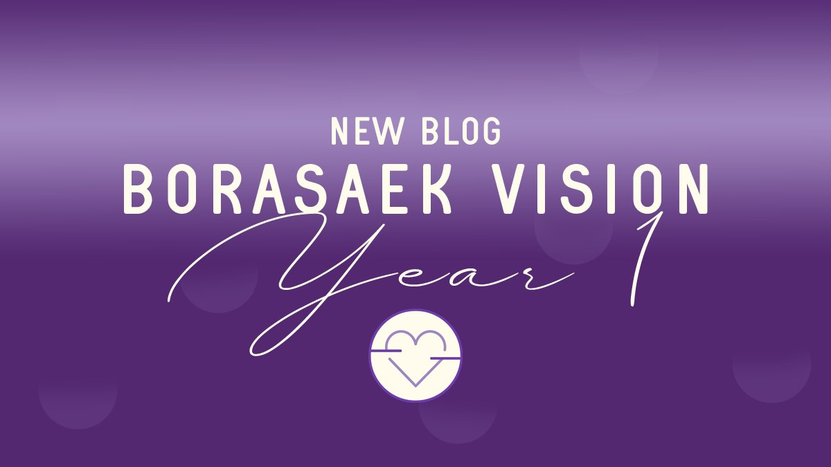 {New Blog} 🔗 https://t.co/eKmlf6ZpQD As September comes to an end, Borasaek Vision celebrates its first year. Come join us as we talk about the things that make ARMY and us a great team. #Borasaekvision #BTSARMY #BTS #BVM https://t.co/QVdVK2jPnU