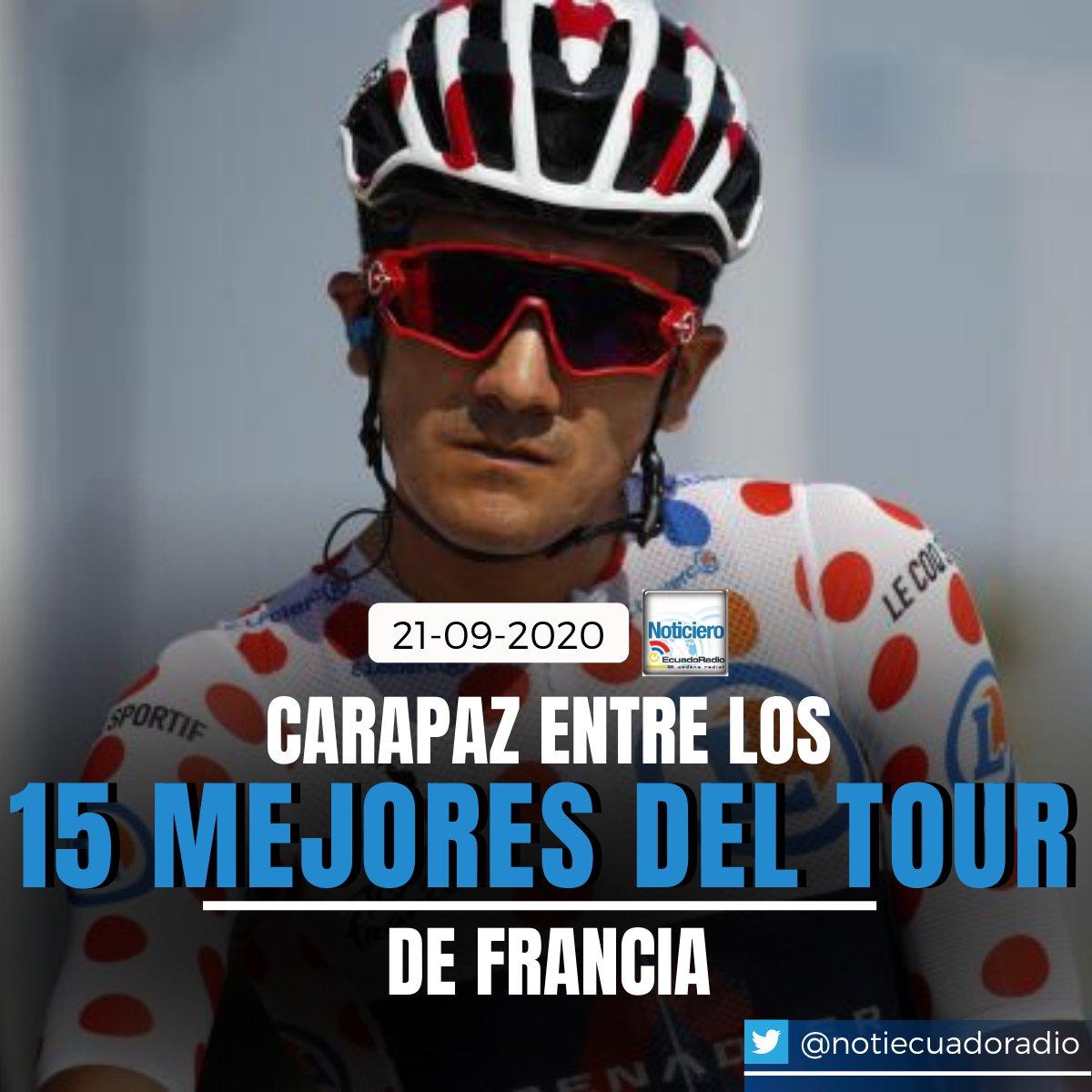 #RichardCarapaz terminó en el puesto 13 de la #clasificación general. El #ecuatoriano cronometró 87h45'58''. La '#Locomotora del #Carchi' fue el mejor ubicado del equipo #IneosGrenadiers. https://t.co/ojDFJAZujl