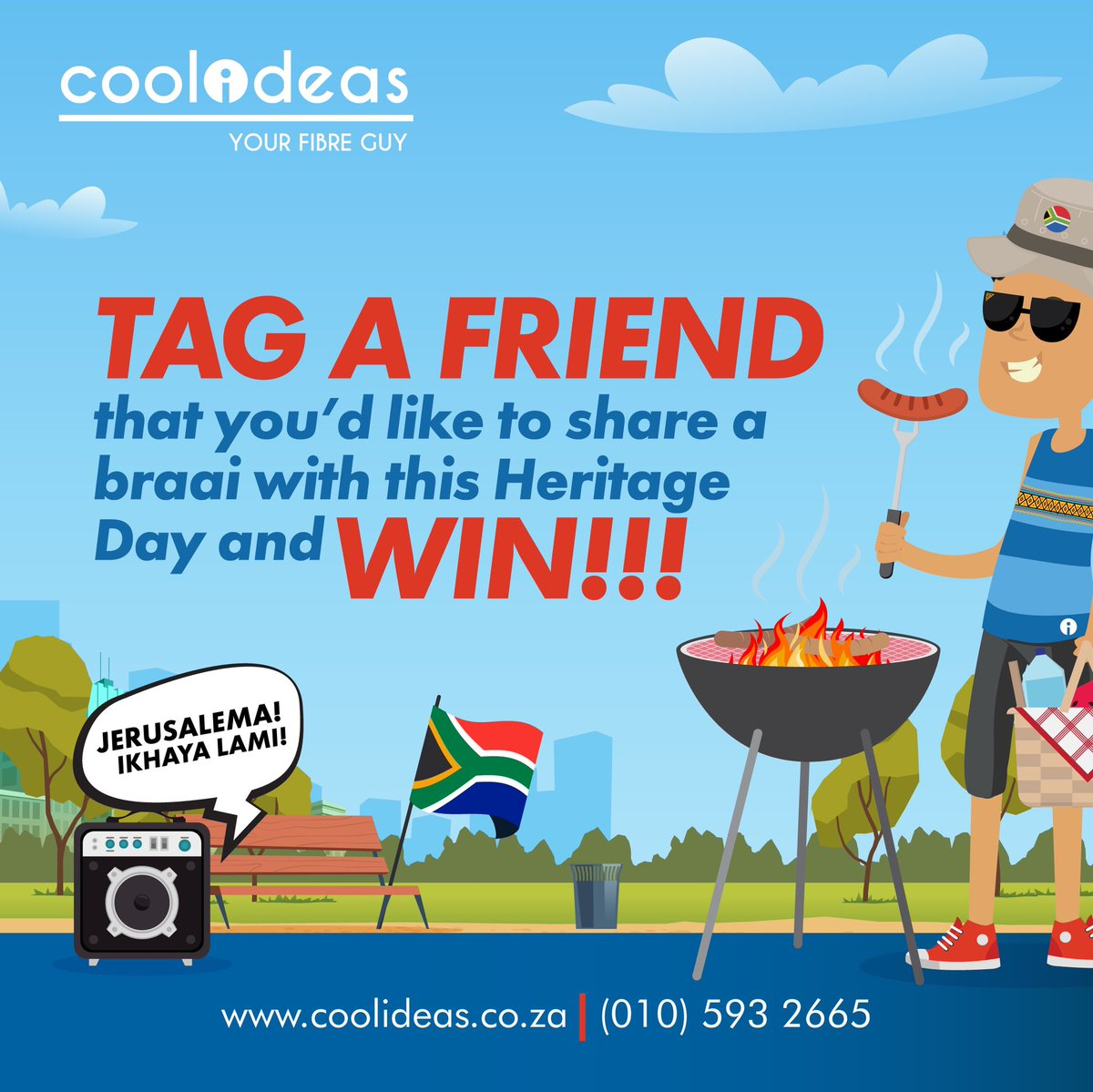 As South Africa embraces this new normal and moves into Lockdown Level 1, we want to know who you would like to share a braai with this Heritage Day? 🇿🇦  A friend, family member or even a neighbor? Mention one (or all of them) below, retweet this post and stand a chance to WIN!🏆 https://t.co/3rLuhe2pap