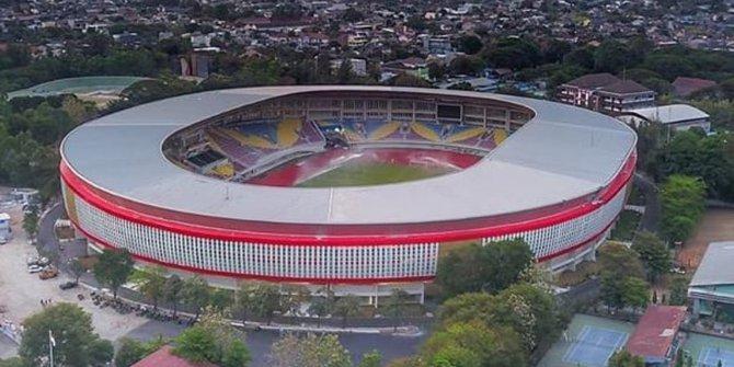 Tak kalah dari stadion Jatidiri Kota Semarang, inilah Stadion Manahan Solo. https://t.co/HxPTdPyWAd