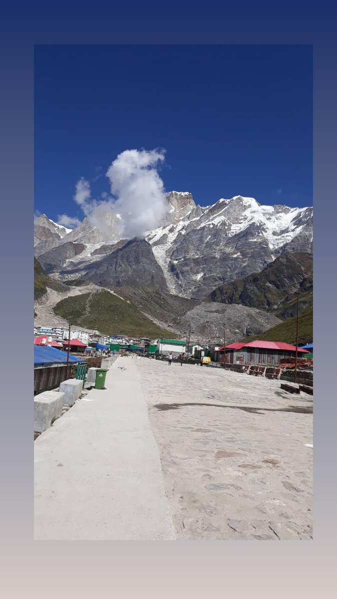 this is the part of paradise🙏 #Mahadev #Kedarnath #jaibholenath https://t.co/dNTQ60E6VZ