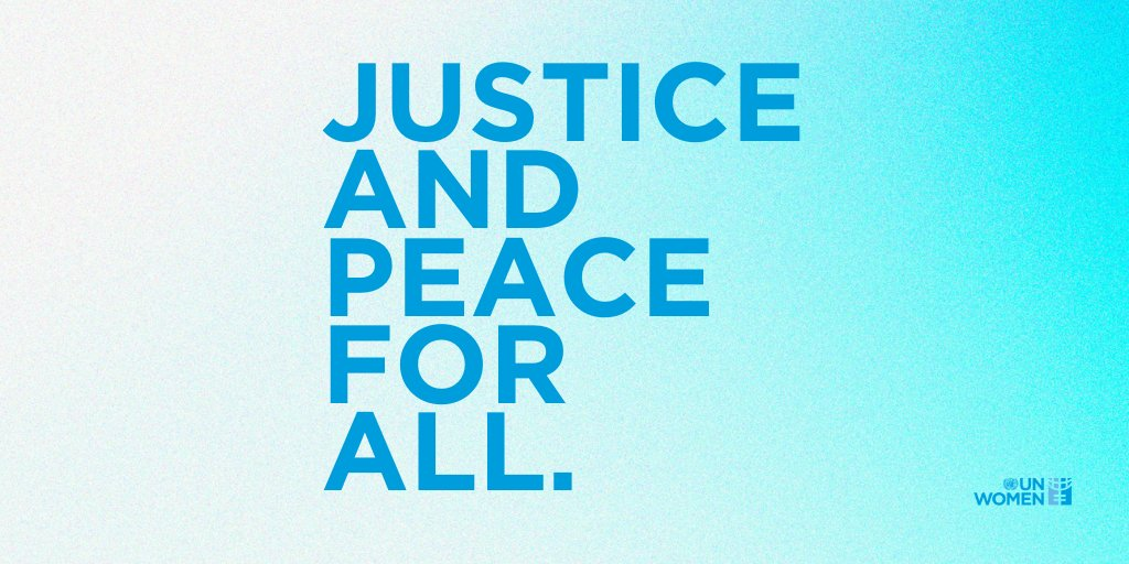 Peace is a prerequisite for health, equality and human security. Women play a key role in sustaining inclusive peace around the world. On Mondays #PeaceDay, join @UN_Women in calling for justice and peace for all. unwo.men/alNk50BvbKM