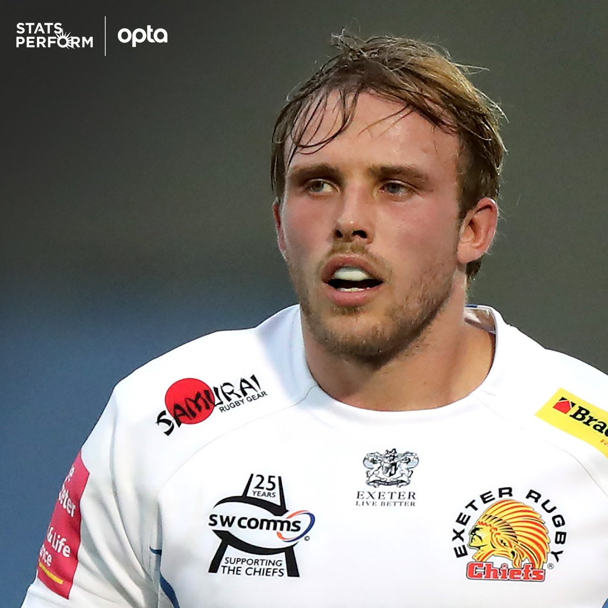 99 - Jonny Gray completed 18/18 tackles in @ExeterChiefs' victory over Northampton, no other player made as many without missing in the Champions Cup quarter-finals; in the competition overall this season, Jonny Gray has made 99 tackles and missed just one. Problems. https://t.co/gn8BAXWSNk