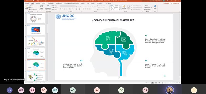 📢¿Conoces la labor que realiza el Programa de Ciberdelito 💻📲 de #UNODC en #CostaRica 🇨🇷?  👉 https://t.co/uwnKPvqD3t  @UNODC_POSAL @UN__Cyber https://t.co/bpenAZ3BOv