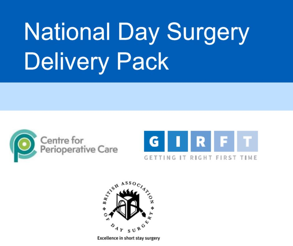 CPOC in partnership with @NHSGIRFT and @britdaysurgery have published the 'National Day Surgery Delivery Pack' to enable NHS Trusts to expand and increase day case surgery for the benefit of the patient and the wider healthcare system. Find out More➡️https://t.co/qzx3FcS6Xv https://t.co/UxeDaimKYF