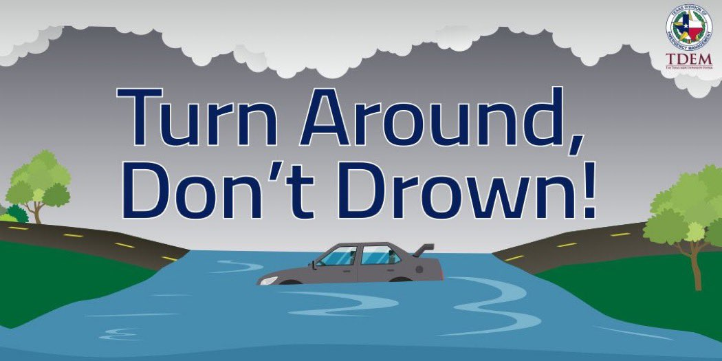 As #TropicalStormBeta moves onshore we are seeing coastal storm surge flooding. This storm poses the threat of additional flooding rain as it moves inland. Never drive into a flooded roadway! For the latest road conditions visit: drivetexas.org