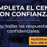 Image for the Tweet beginning: ¿Ya llenó el censo? Este