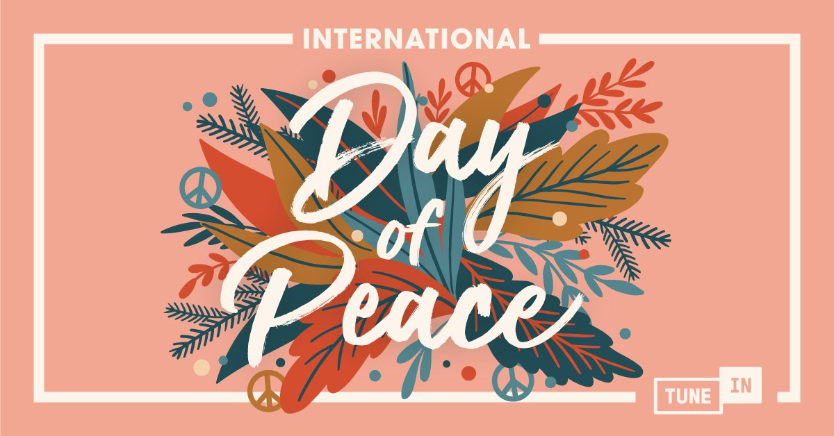 Happy Peace Day! 🕊☮🎶 Observe the U.N.'s International Day of Peace with the harmonious sounds on Relax & Unwind. https://t.co/1EU1IoKmTL https://t.co/JnaozuzScw