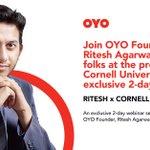 Image for the Tweet beginning: Ritesh Agarwal, founder of OYO