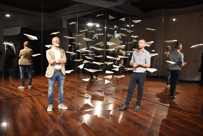 Art Monsters 2020-Contaminazioni aliene promuove l'arte contemporanea a #Perugia. L'esposizione, fino all'11 ottobre a Palazzo della Penna, dà rilievo alle contaminazioni artistiche che hanno animato il fermento culturale umbro del '900 https://t.co/iCuOOzqbE2 #umbriacuoreverde https://t.co/DNfi8Dm6x2
