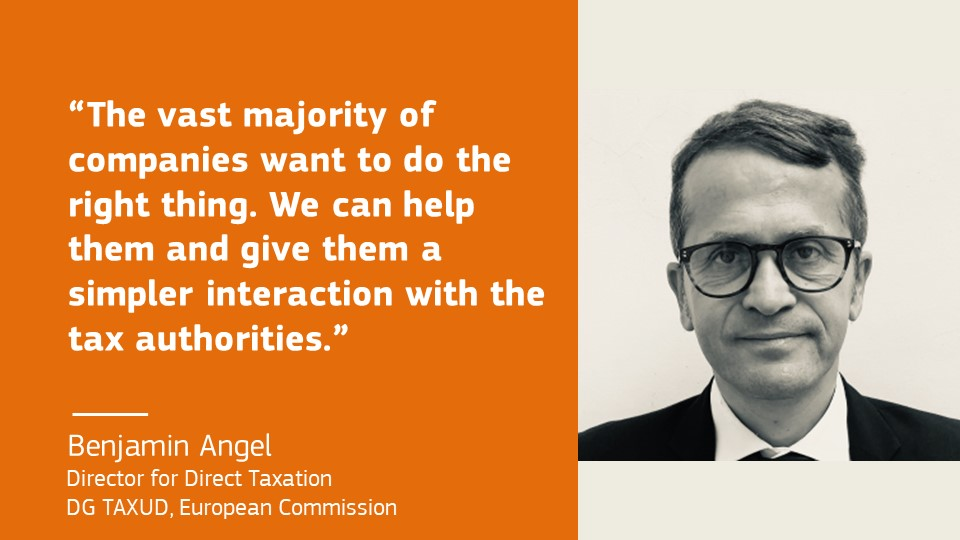 Complicated tax codes are a gold mine for tax advisers but a headache for SMEs, says @benjaminangelEU responding to the results of the poll today at our #FairTaxationEvent https://t.co/hY1i7tPXlV