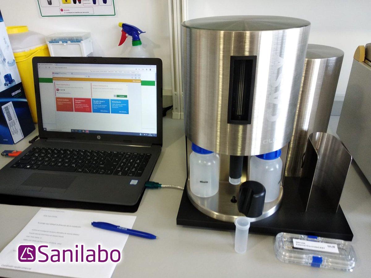 Instalación de un equipo de recuento celular multicanal de campo eléctrico con la tecnología CASY en el Instituto de Investigación Sanitaria y Biomédica de Alicante (ISABIAL)  #SANILABO #CASY #tecnologiaCASY #laboratorio #equipamiento #Alicante #ISABIAL https://t.co/Z1cZJFAuwP
