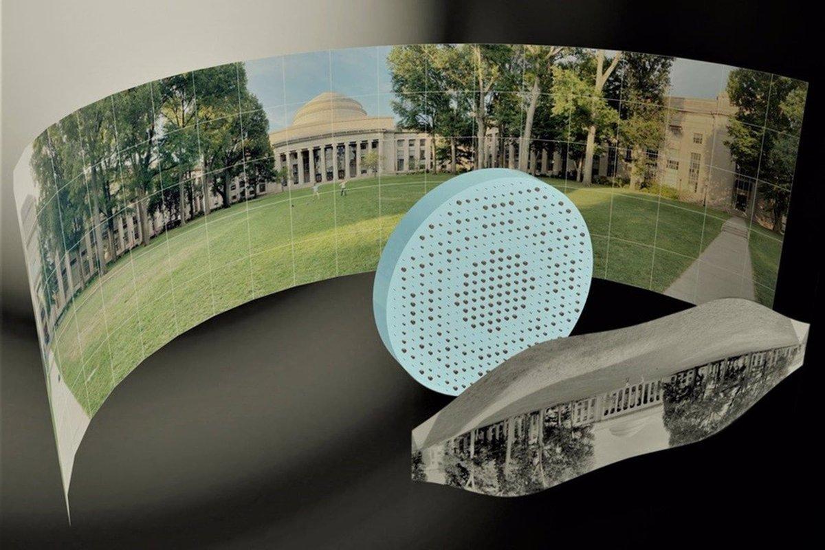 Inédito: crearon una lente gran angular plana que toma fotos de 180 grados https://t.co/j5dJOLYZHI https://t.co/t4i2DVpOUB