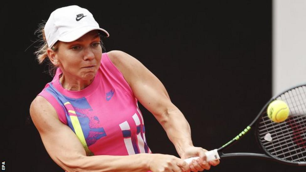Top seed Simona Halep warmed up for next week's French Open by winning her first Italian Open title after opponent Karolina Pliskova retired injured.  BBC Sport | #263Chat https://t.co/k64wue2lmw