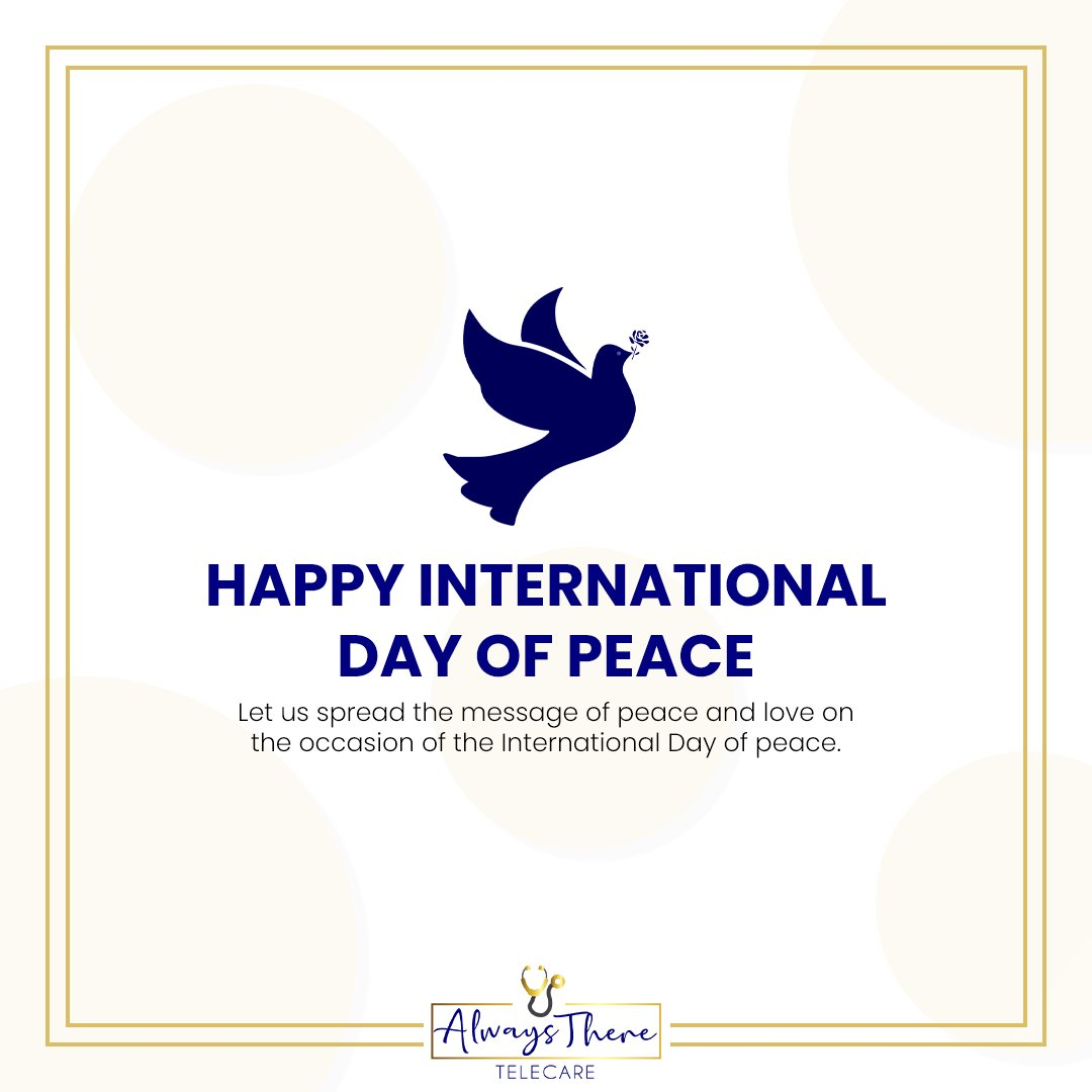On International Day of peace, we should take the pledge of committing ourselves to world peace and non-violence. #motivation #inspiration https://t.co/eMCZkfeuPt