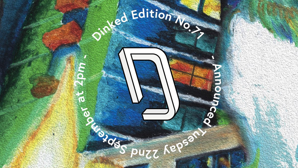 Be here tomorrow at 2. Got another good'un for you. Be quick, be smart. Put this is you cart. #DinkedEdition Much better at curating records than writing poetry (thankfully)