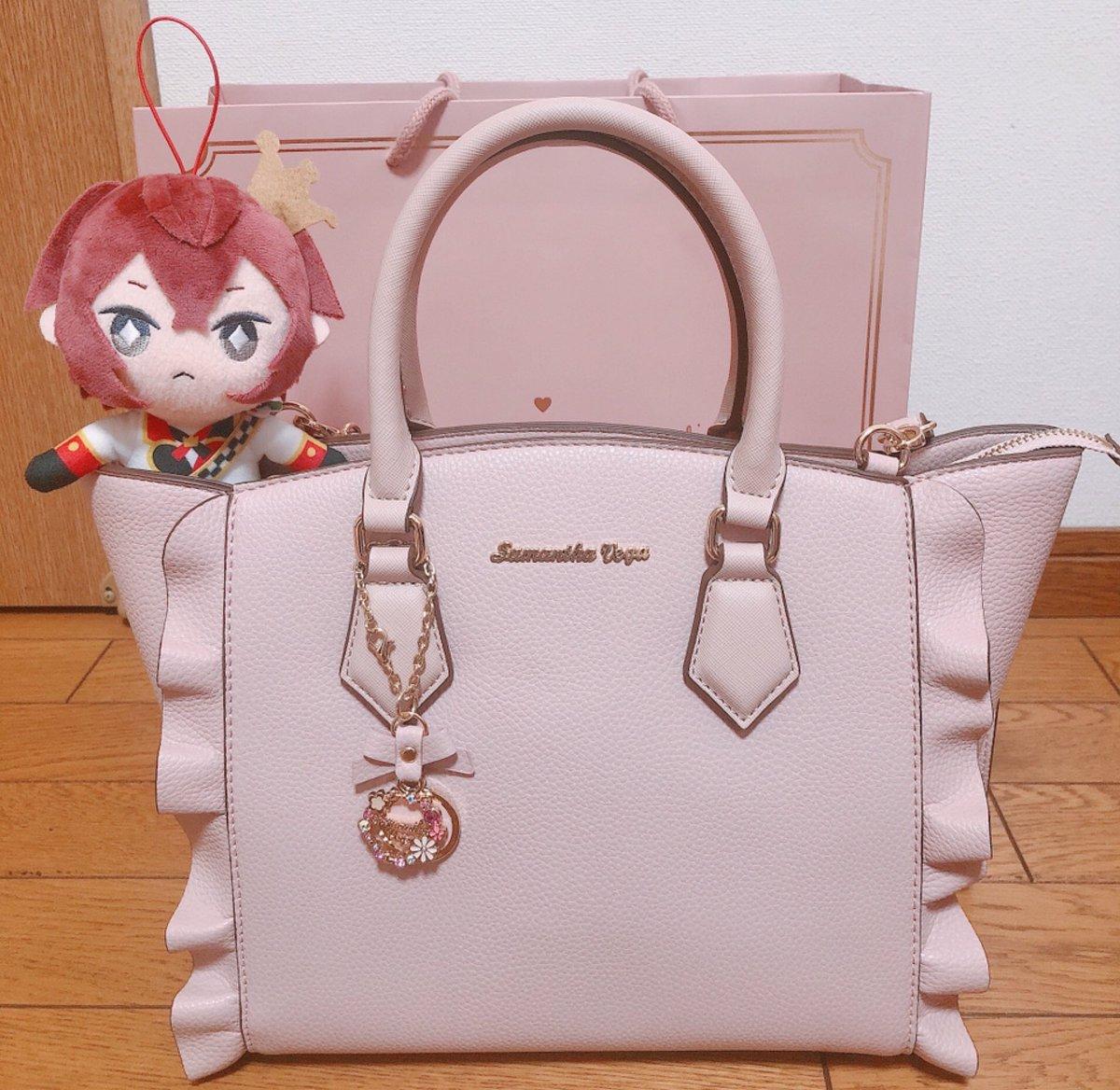 新しい鞄✨就職の祝いに買ってもらった(*ˊᵕˋ*)可愛い