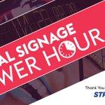 Image for the Tweet beginning: This Week's Digital Signage Power