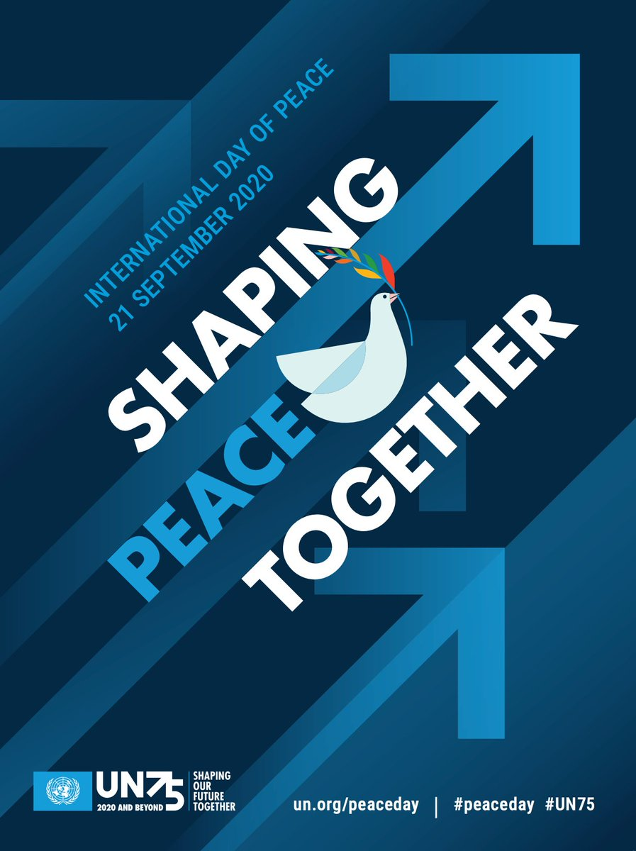 Each year the International Day of Peace is observed around the world on 21 September. As we celebrate the International Day of Peace today through education and engaging in acts of kindness, let's honour this day by spreading compassion, kindness and hope. #PeaceDay #SNCDSB https://t.co/o2KNmhzQkC