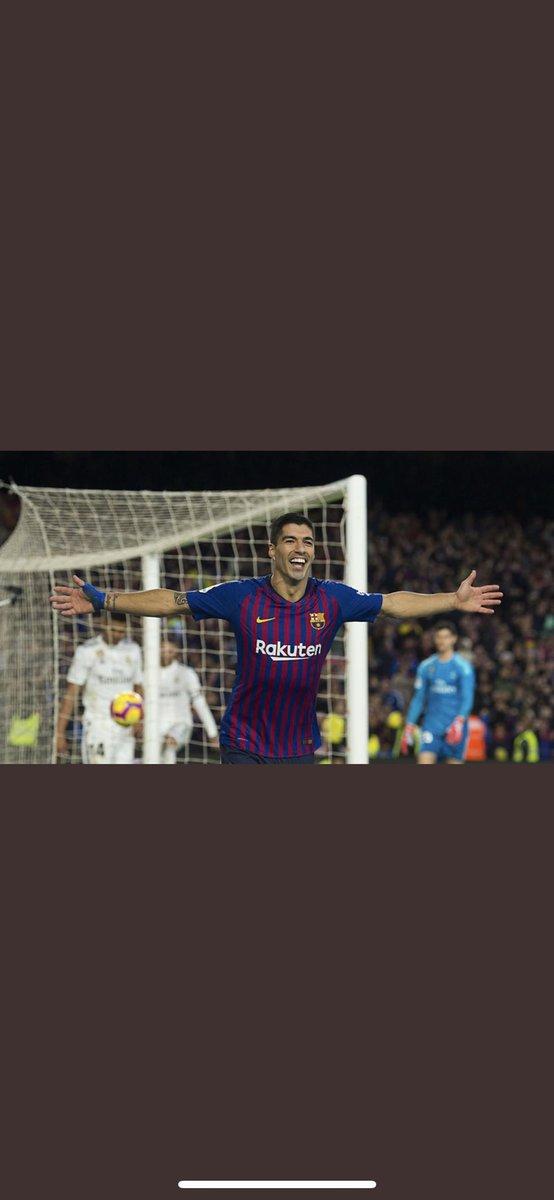 Gracias por estos 6 años de alegrias,goles y esfuerzo! Suerte en tu nueva etapa @LuisSuarez9 ! #Leyenda #FCBlive https://t.co/4YsI7Xioxa
