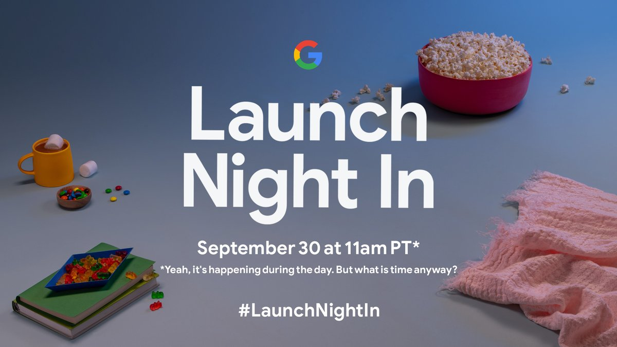 #LaunchNightIn is in nine days. Who's tuning in?  See you on September 30 at 11am PT at https://t.co/E75uqzpThV https://t.co/El1EJKhlHi