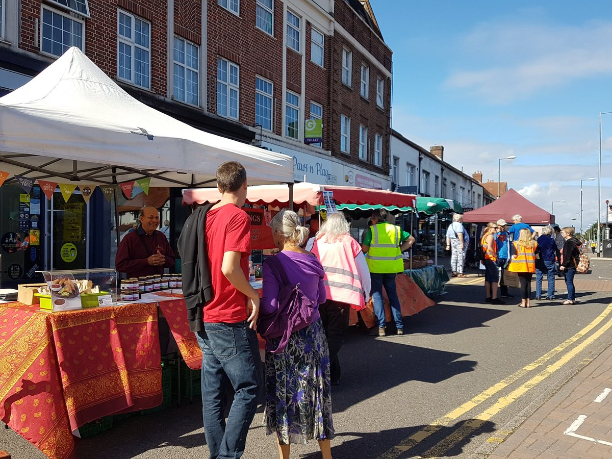 Thank you to everyone who came and supported the relaunch of First in Tolworth Market on #TolworthBroadway. It was great to be back and we're looking forward to next month - make sure you've got Sun 4 Oct in your diary!   #tolworth #kingstonuponthames https://t.co/i3IigcRnLh