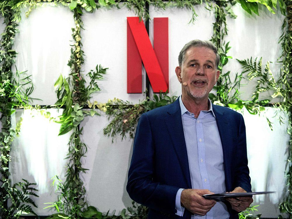 Netflix founder Reed Hastings says company is 'very much still in challenger status'