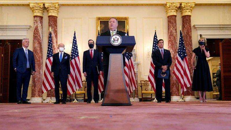 #أمريكا تفرض عقوبات جديدة على #إيران تشمل وزارة الدفاع وعلماء إيرانيين.  https://t.co/IKi1nilVB2 https://t.co/jICiP17AZX