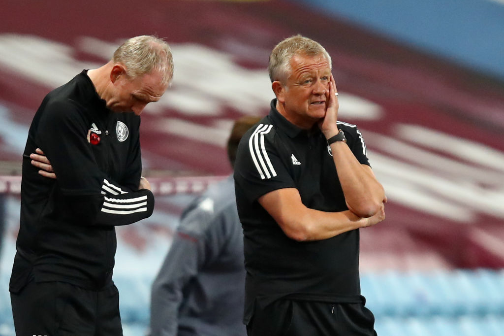 Chris Wilder isnt happy. He has criticised two major decisions from officials in Sheffield Uniteds loss to Aston Villa. 👉 bbc.in/3kF5PAS