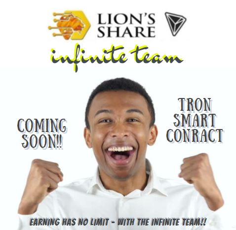 For those SERIOUS in joining our #InfiniteTeam for the TRON Grand Launch, please go to our #Whatsapp Chat Group at https://t.co/yk8BeT5Axw  #lionsshare #smartcontract #forsage #earnfromhome #income #onlineincome #stayathome #workfromhome #tron #trx #forsagetron #fortron #autoxify https://t.co/0xBpXYDlUg