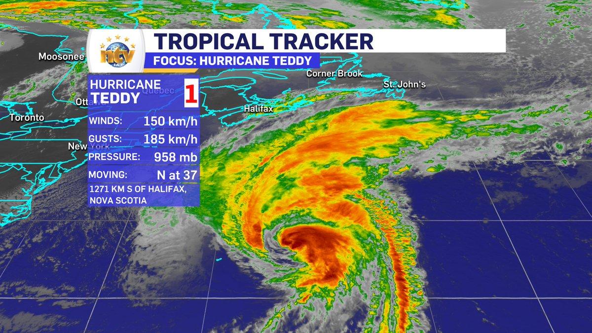 Tracking Hurricane Teddy Nova Scotia Buzz