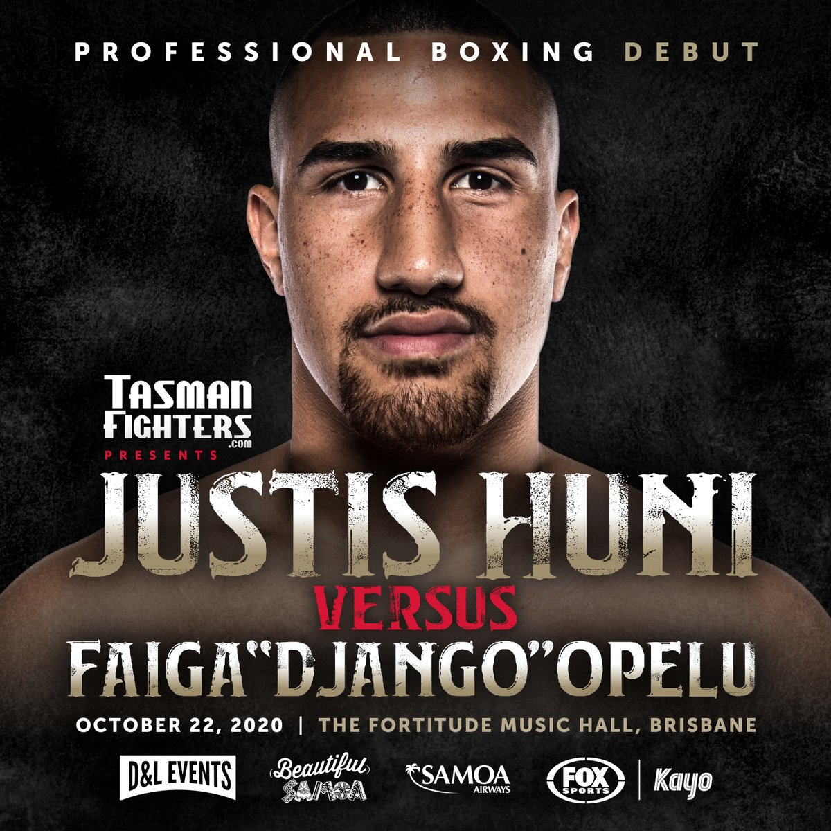 🥊 Amateur superstar Justis Huni will make his professional boxing debut against reigning Australian Heavyweight Champion 'Django' Opelu LIVE on Fox Sports 505 on Thursday, October 22.   In the main bout world-ranked cruiserweight Jai Opetaia rematches Ben Kelleher. https://t.co/oKgKWMDlnA
