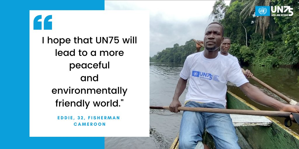 The climate crisis has not stopped amid #COVID19. People around the world are demanding that urgent #ClimateAction is included in #coronavirus recovery plans. More results from the #UN75 survey ➡️ bit.ly/35X5sNU