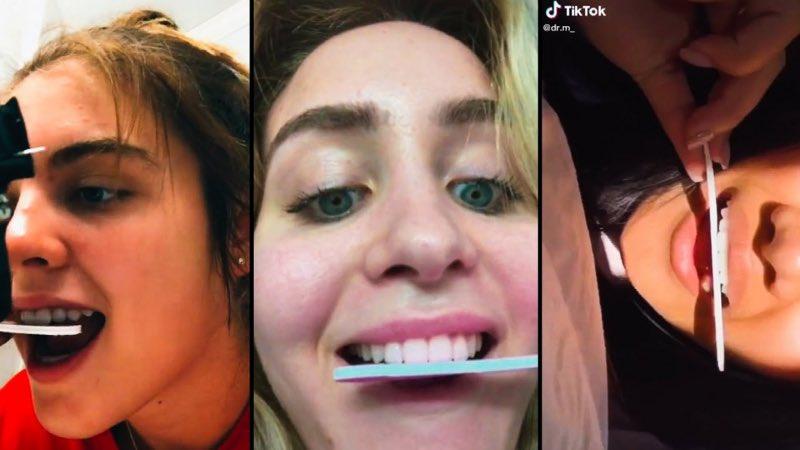 """""""تبريد"""" الأسنان .. تحذيرات شديدة من تحدٍ خطير انتشر على """"تيك توك"""".  https://t.co/1LVCayg9g7 https://t.co/FajOHglNNR"""