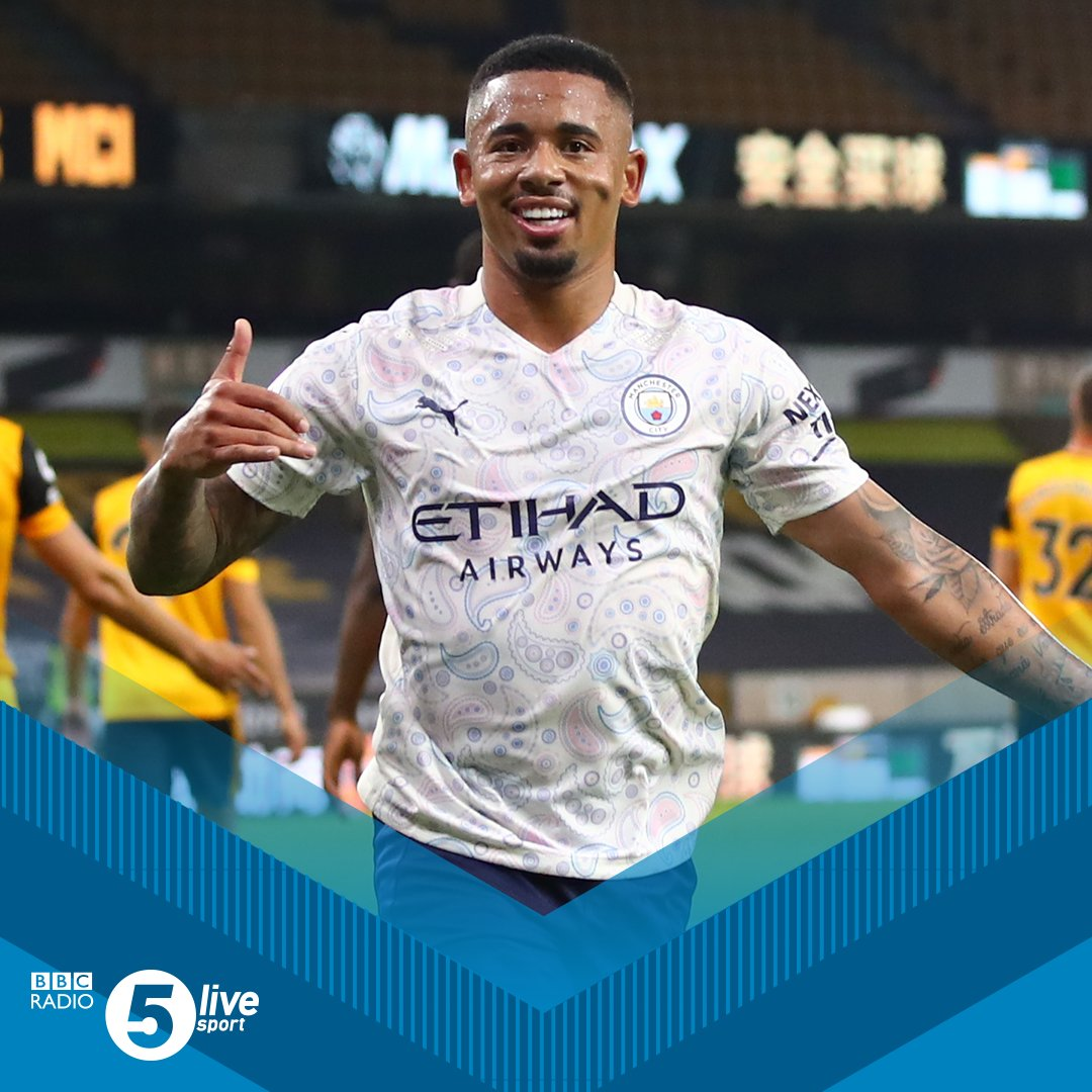 4⃣4⃣ goals were scored in the 10 matches over the weekend. A Premier League record since it became a 20-team league! 📲⚽ bbc.in/5live #WOLMCI