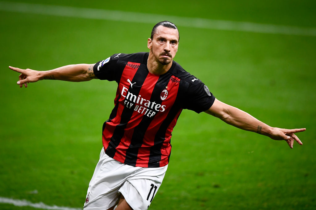 Zlatan Ibrahimovic has now scored in 22 different top-flight seasons. He scored both goals as AC Milan got off to a winning start in Serie A. 👉 bbc.in/2HmB2KH