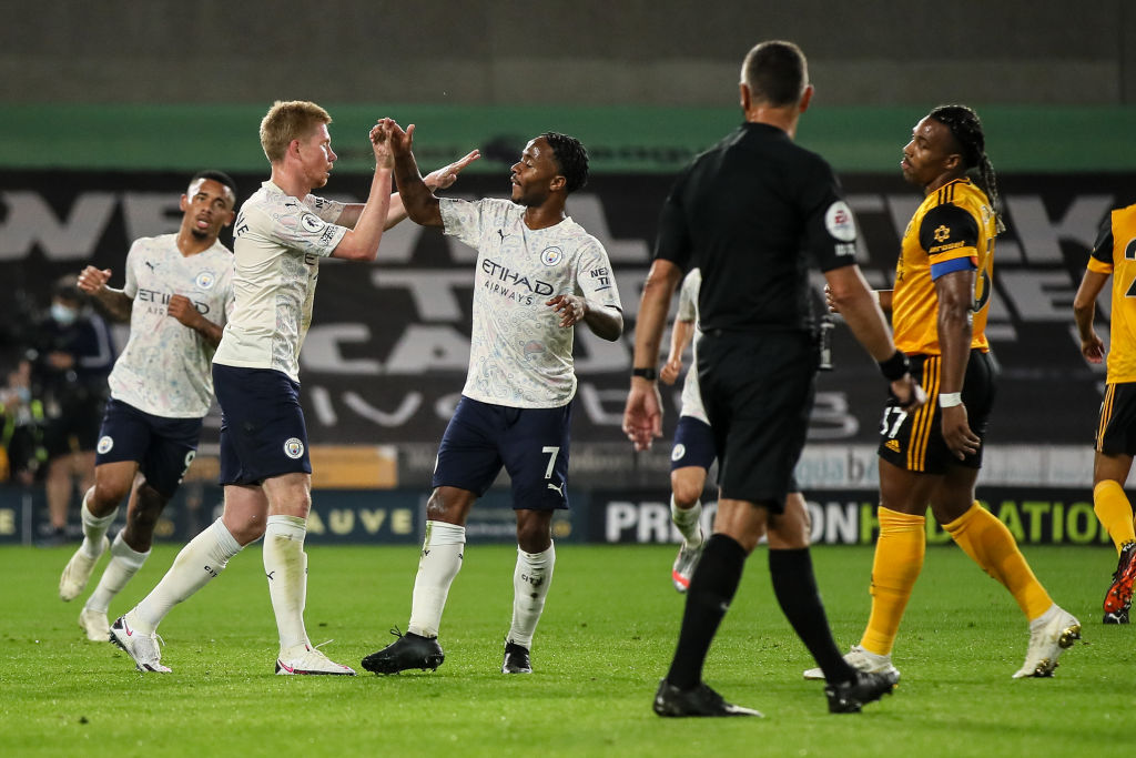 Man City passed their first test of the new season with flying colours. Read all about their win over Wolves 👉 bbc.in/32O0PDO