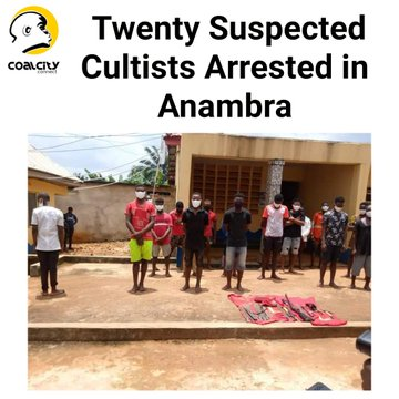 #ondisday #21September2020, Anambra @PoliceNG arrested 20 alleged cultists. One of the suspects, a secondary school student, was arrested with a gun within school premises. Whilst neither condoning nor condemning the #EndSARS campaign, behaviour like this is not condoned. https://t.co/bMeKYAPc7P