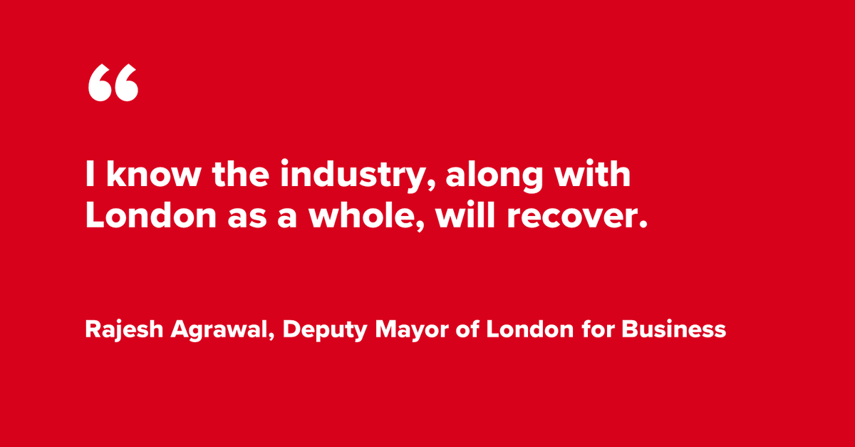 Deputy Mayor for Business in London and our Chairman @RajeshAgrawal speaks to @Conference_News on the importance of the business events industry for London. Read the full article here 👉https://t.co/m55zRuWQTB https://t.co/MkOKQcgprB