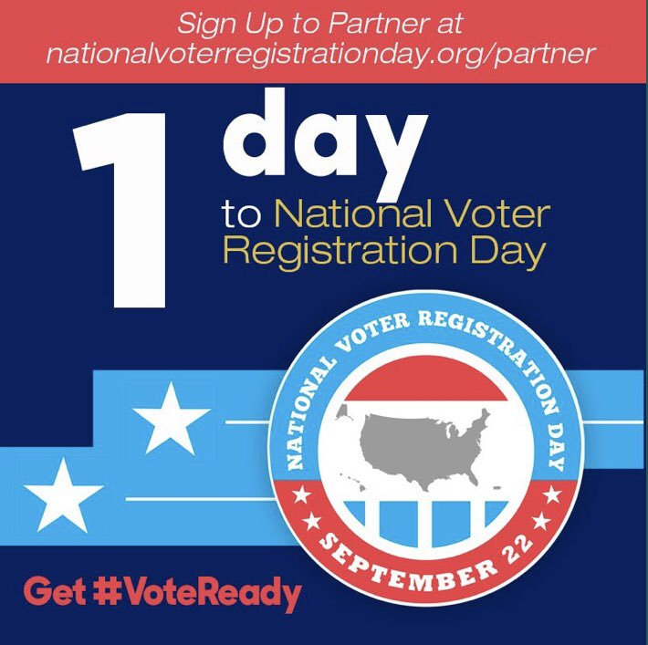 *Be sure to ask at least 5 people if they are registered to vote & encourage to vote. *Visit https://t.co/xyFiVhKtUz to confirm your voter registration. #CollinCoNAACP #NAACP #VoteReady https://t.co/r1POnAAu07