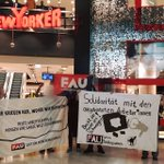 Image for the Tweet beginning: Free Workers' Union (@FAU_SektionMG) in