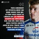 Image for the Tweet beginning: Paris-Camembert inspire Jake Stewart ⤵