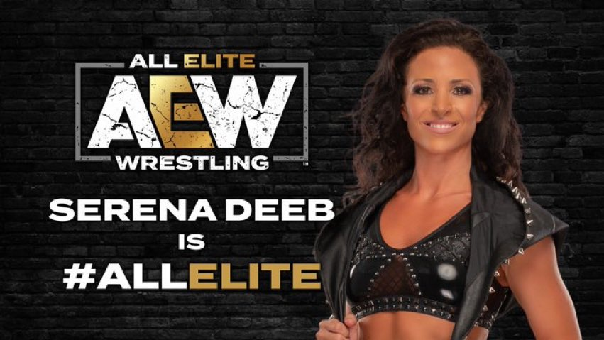 AEW Announces Signing Of Serena Deeb